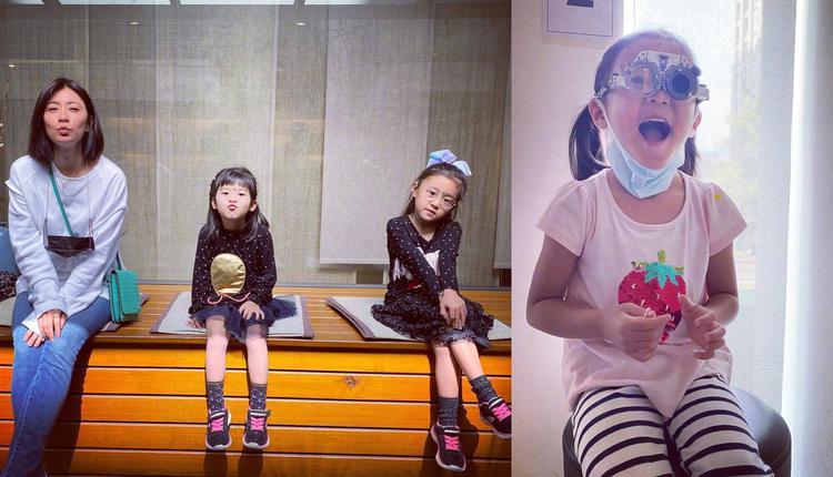 贾静雯与女儿