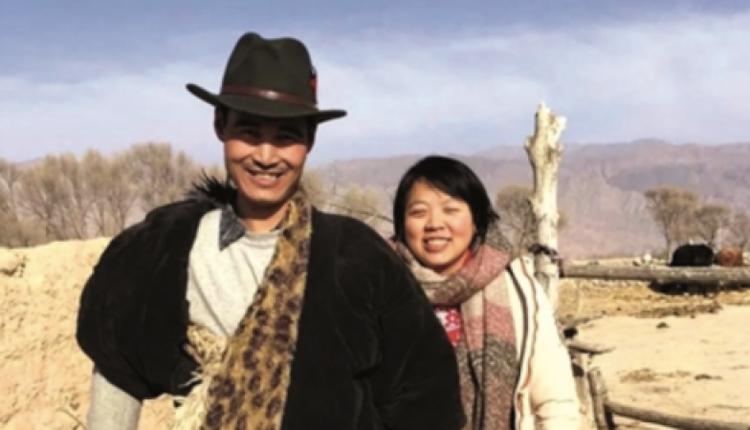 马金瑜与丈夫(图片来源:网络)