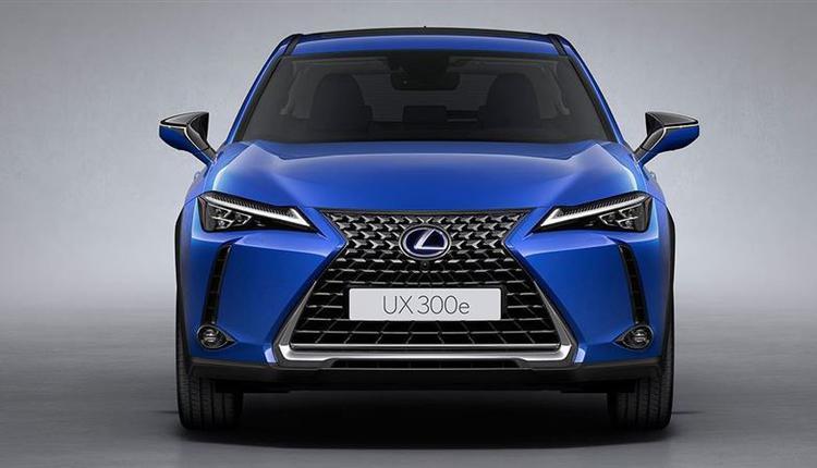 Lexus纯电休旅UX300e