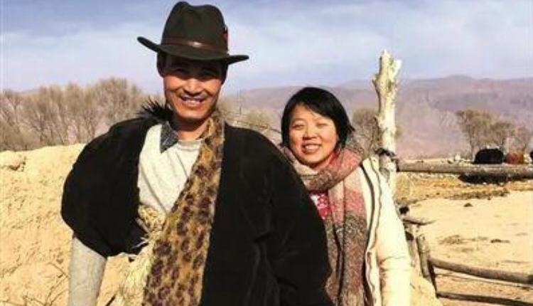 马金瑜与丈夫谢德成