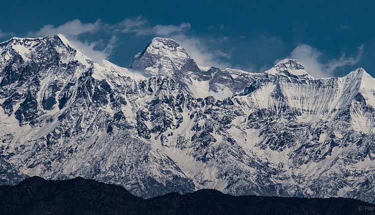 喜马拉雅山脉南达德维冰川,Nanda Devi