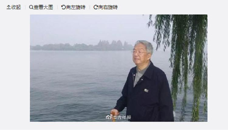 因同情学生上中共黑名单 前新闻局长钟沛璋去世