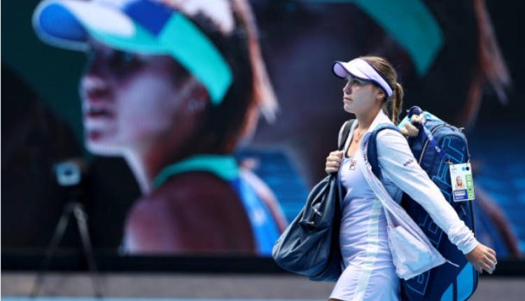 世界排名第四的美国网球女将肯宁止步第三轮