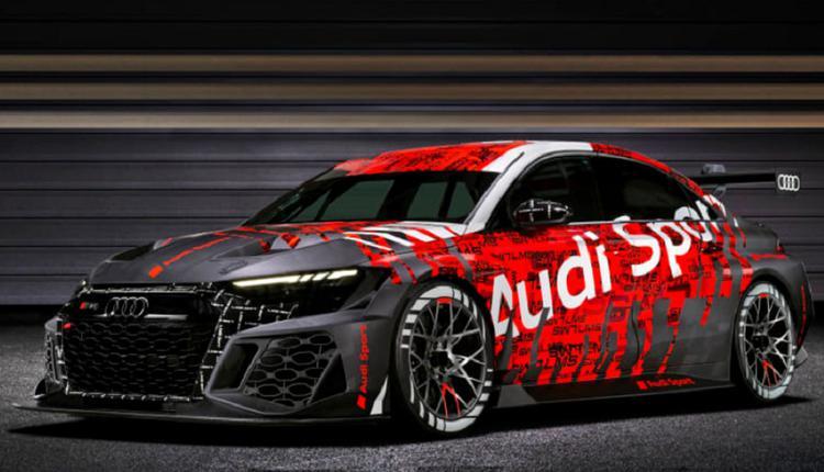 2021年版的RS3 LMS Racecar