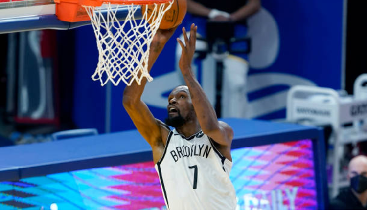 [NBA]杜兰特回归首战老东家 篮网三巨头合体大胜勇士