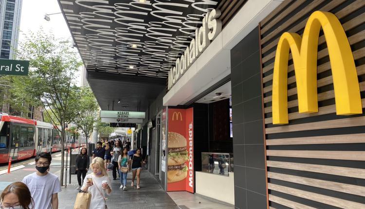 悉尼麦当劳 Mcdonald