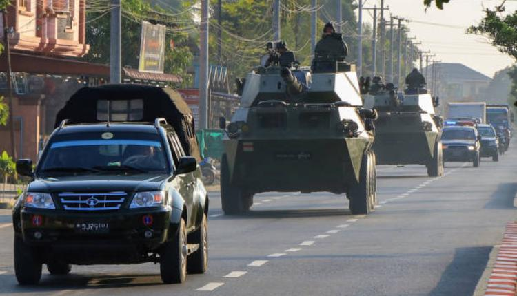 缅甸反军事政变示威