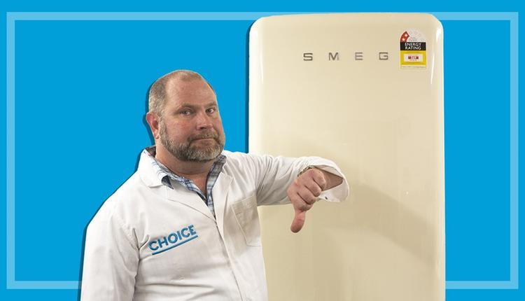家电制造商Smeg一款售价4000澳元的复古式冰箱