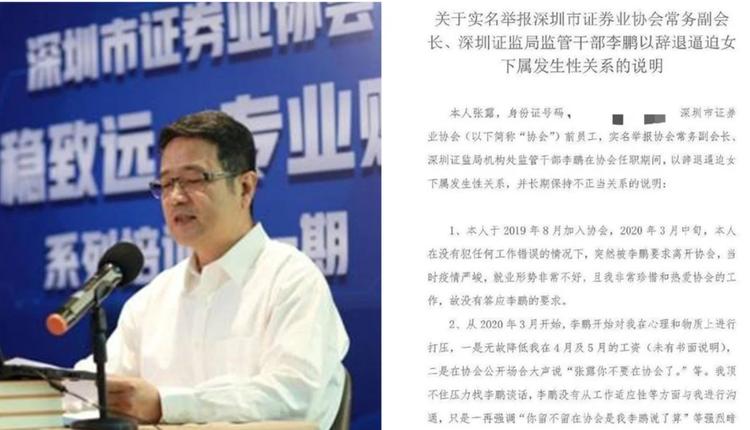 深圳市证券业协会常务副会长兼秘书长李鹏