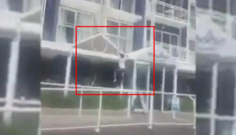 一名维州女子试图从一楼的窗户爬到大楼外面,以逃离塔州的酒店隔离区