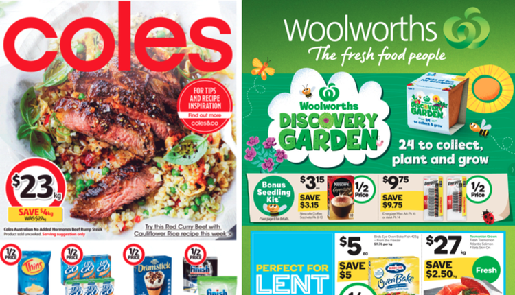 Woolworths|Coles折扣一览