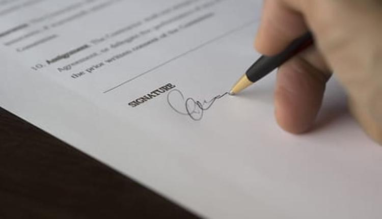 签合同 签字 授权书