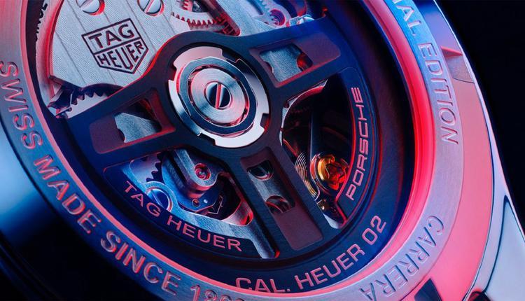 泰格豪雅卡莱拉系列计时码表保时捷特别版