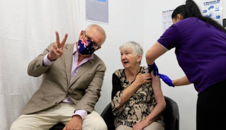 澳洲提早展开疫苗接种计划