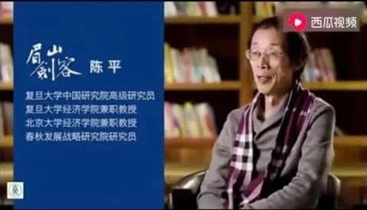 复旦大学教授陈平
