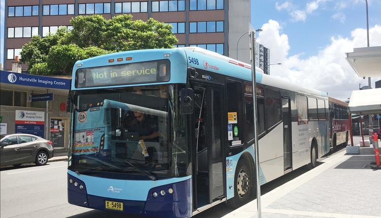 悉尼,公交车 ,公共汽车,Hurstville