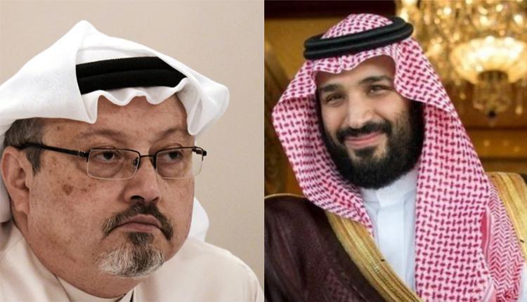 沙特异议人士贾迈勒·卡舒吉(左)与沙特王储穆罕默德·本·萨勒曼(右)
