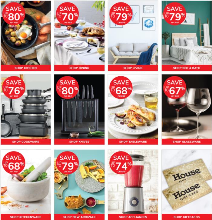 澳洲著名廚具店【House】又開始廚具特賣啦