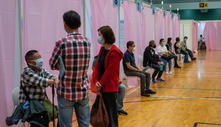 港人接种中国科兴疫苗