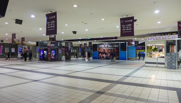 Flinders St火车站大堂