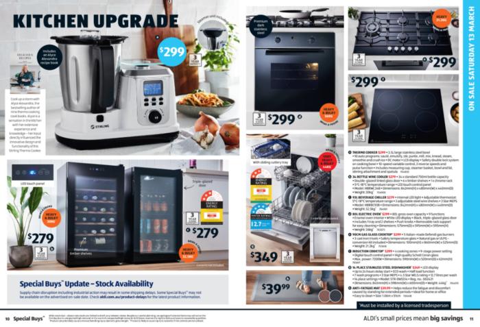"Aldi""厨房升级""(Kitchen Upgrade)系列优惠商品"