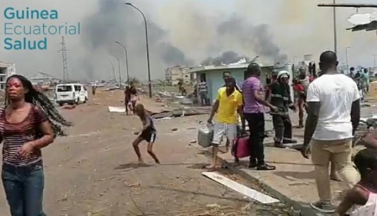 赤道几内亚巴塔市爆炸