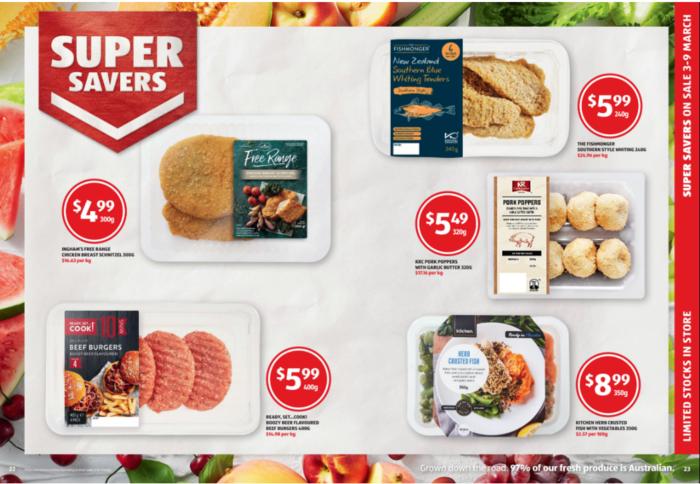 每天特价和Super Savers商品