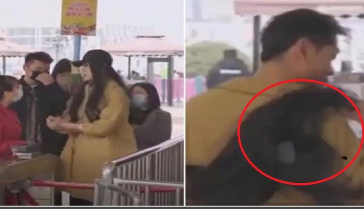 为享妇女节优惠 陕西男子扮女装  网友称假新闻