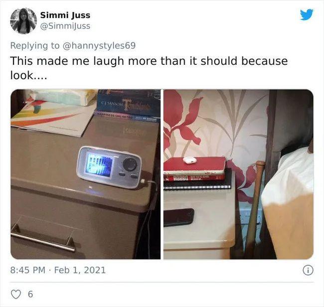 """""""我的床头 vs 男朋友的床头"""