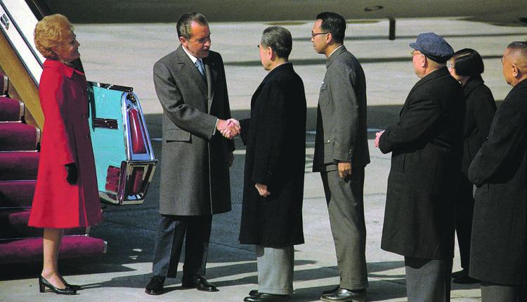 尼克松 周恩来 美中建交