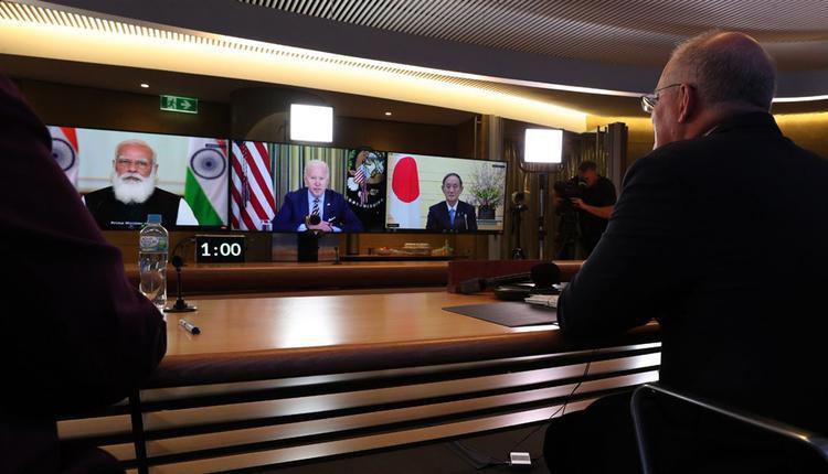 四方安全对话首场领袖高峰会12日透过视讯召开