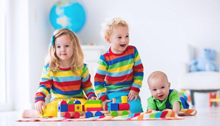 幼儿园,早教中心,可爱儿童