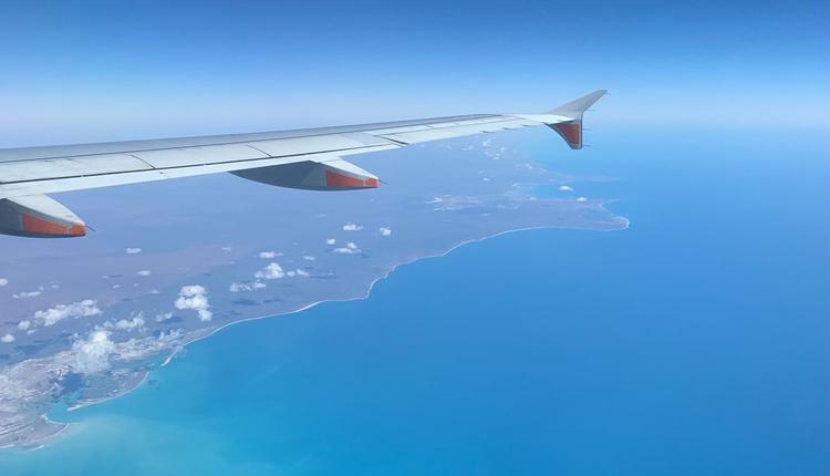 国际旅行(西澳上空)travel 旅游