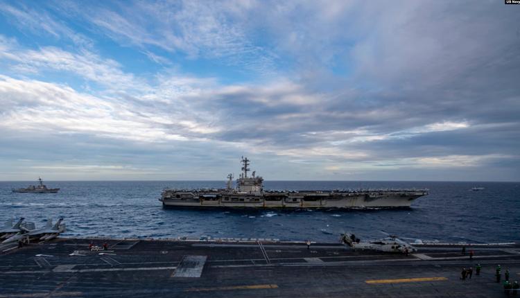 美军罗斯福号航母(USS Theodore Roosevelt)