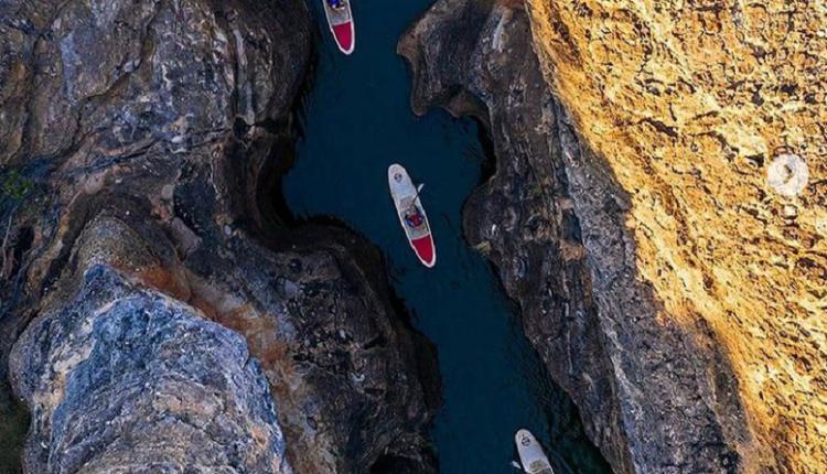 Cobbold Gorge ,泛舟,划船,山峡