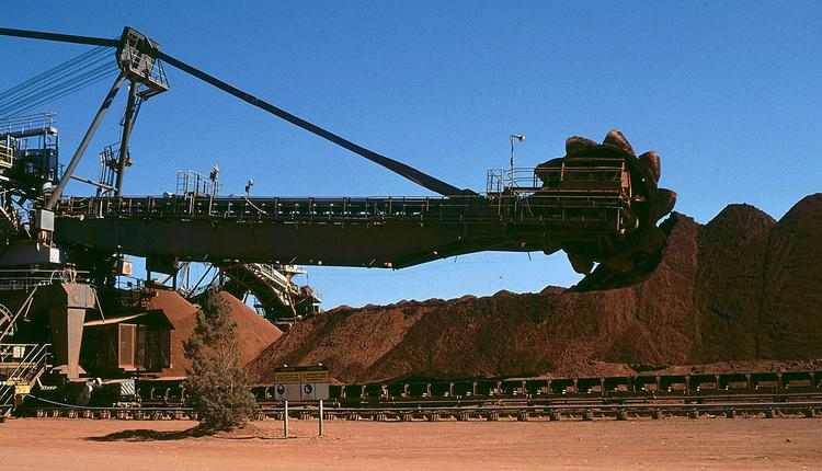 铝土矿开采工具,Weipa