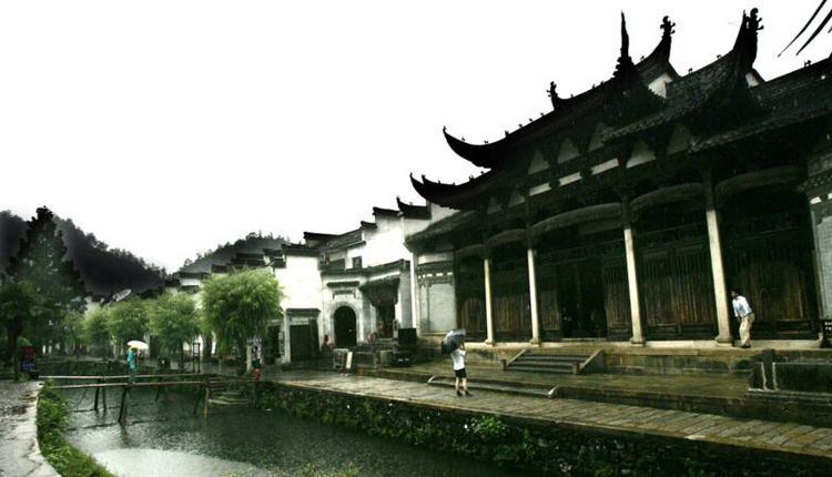 胡氏宗祠位于安徽省绩溪县