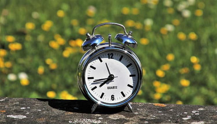 夏令时 闹钟 时间 钟表
