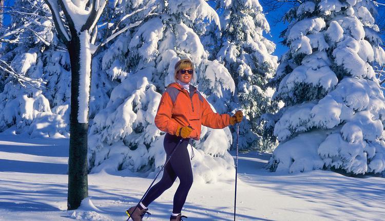 滑雪,冬天
