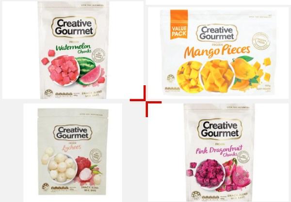 Creative Gourmet的产品