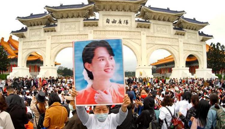 声援缅甸政变受难者