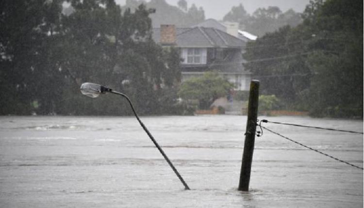 洪水,淹水,