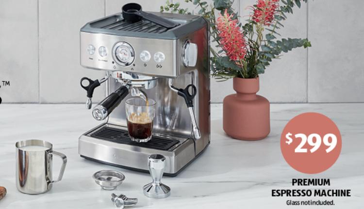 优质咖啡机299澳元