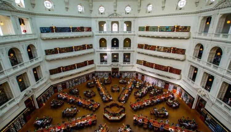 州立图书馆(图片来源:what's on Melbourne)