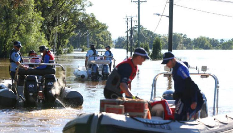 洪水,澳洲洪水,淹水