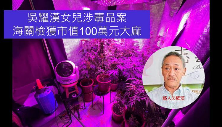 艺人吴耀汉的女儿涉毒品案