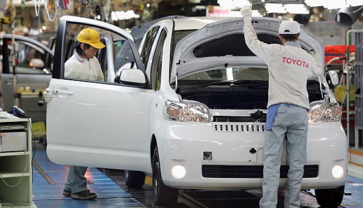 丰田车厂,Toyota,日本汽车厂商