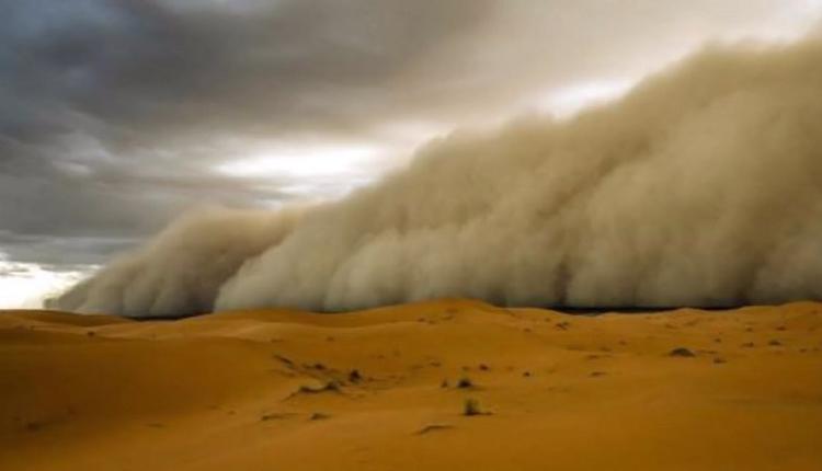 受内蒙古影响 北京再起沙尘暴