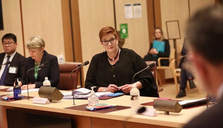 外交部长 佩恩 Marise Payne