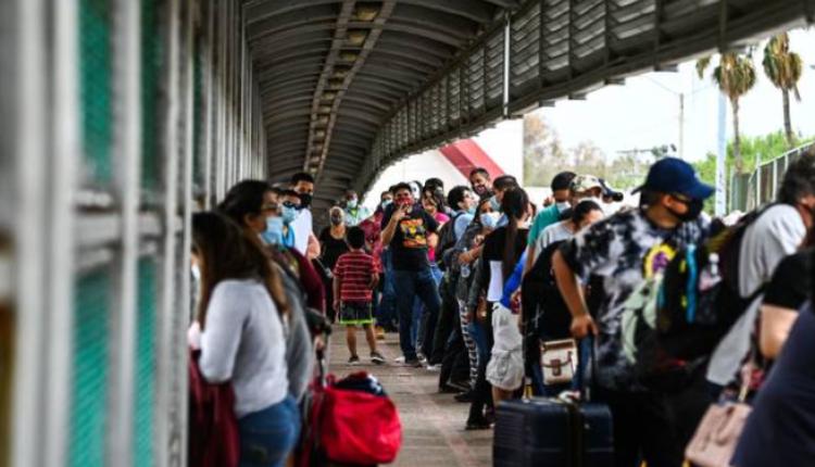 美墨边境的难民